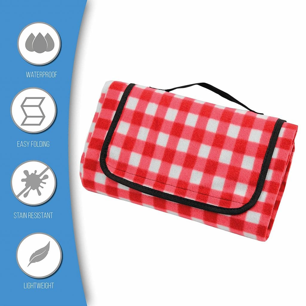 California Picnic Waterproof Picnic Blanket Perfect For Outdoors