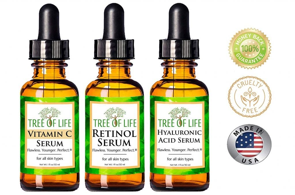 Flawless Younger Perfect Anti Aging Serum 3-Pack
