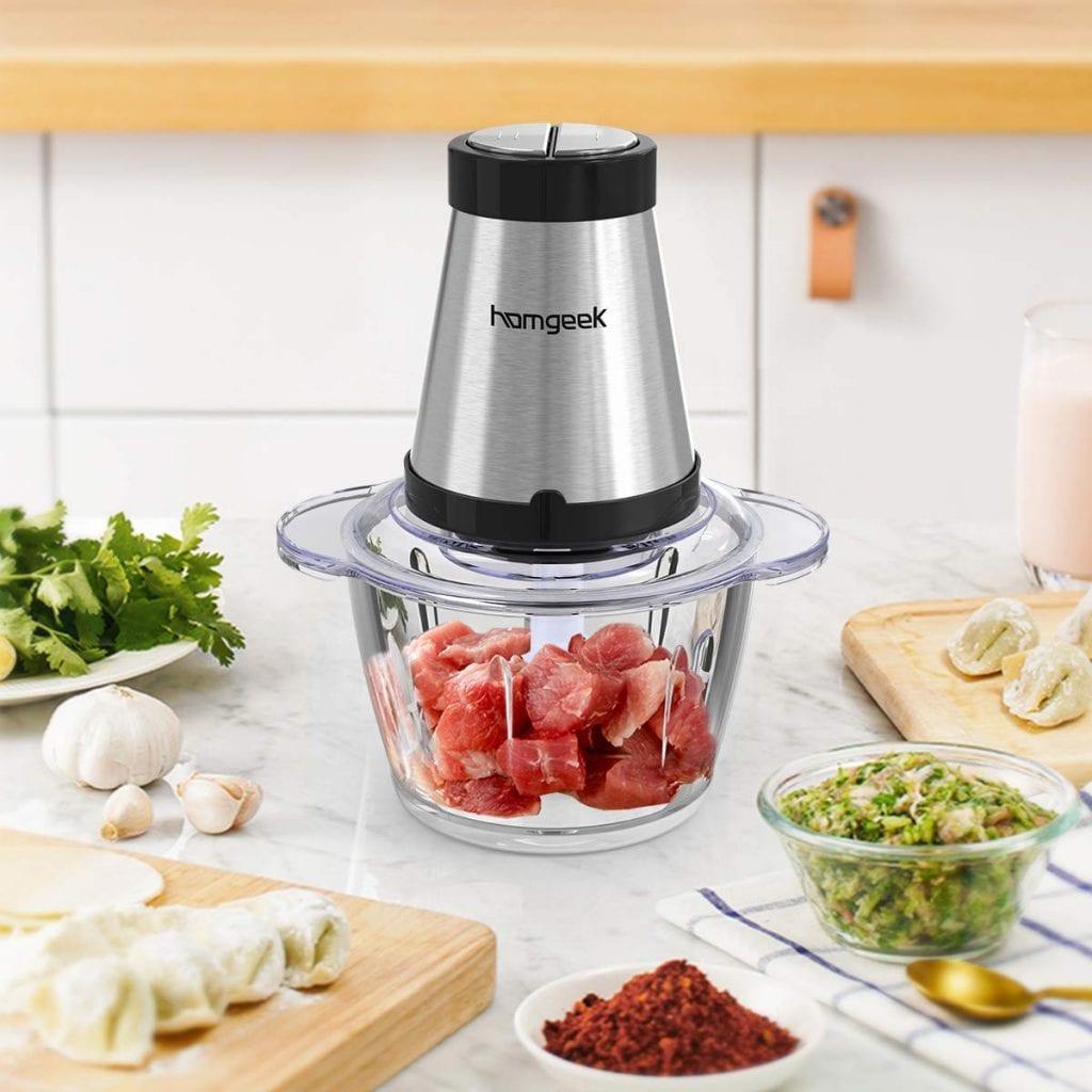 Homegeek mini food processor