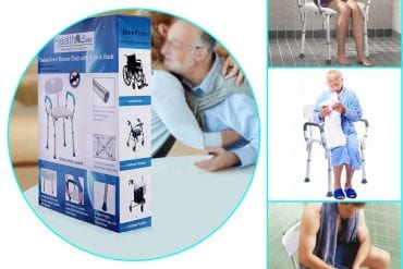 Medical Shower Chairs with Back and Arms