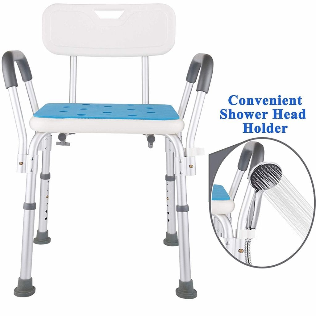 Medokare Shower Seat with Arms and back
