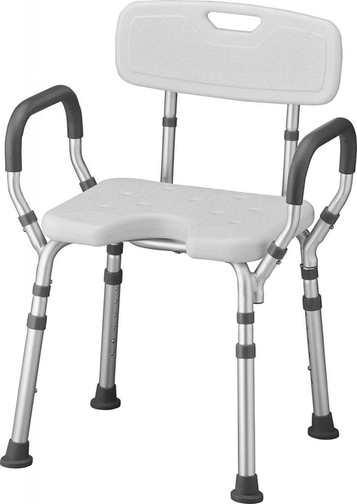 NOVA Shower & Bath Chair with Back & Arms