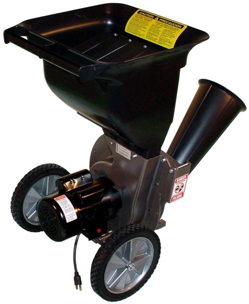 Patriot Products Electric Wood Chipper/Leaf Shredder
