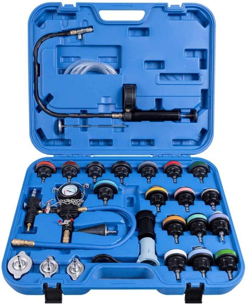 Toolsempire 28 pcs Set Universal Radiator Pressure Tester