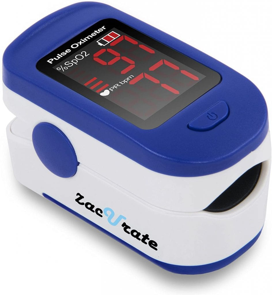 Blood Oxygen Saturation Monitor by Zacurate