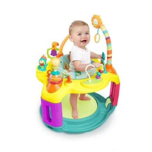 Bright Starts Springin' Safari Bounce-a-Bout Activity Center