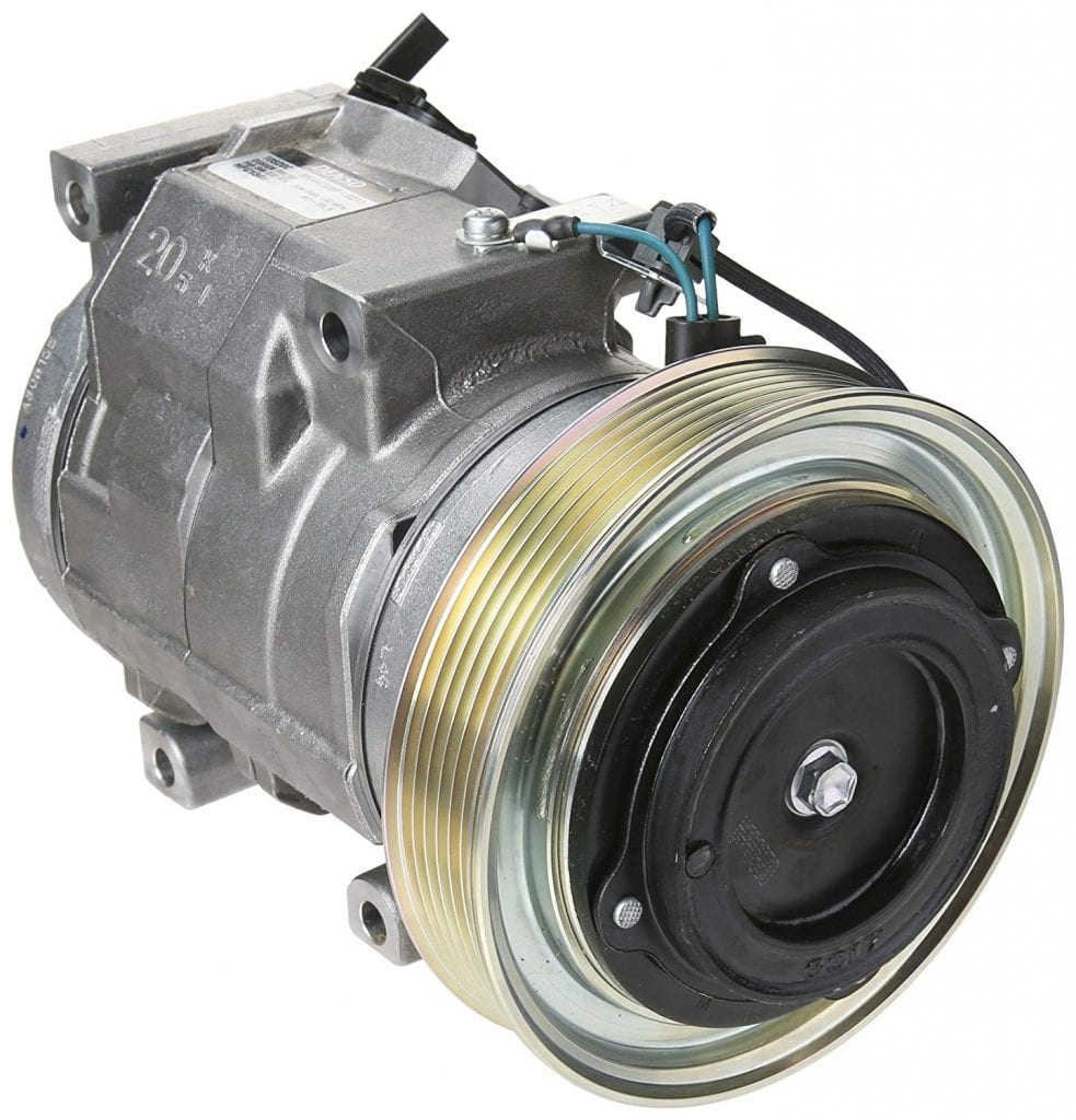 Denso New Compressor with Clutch (471-1630)