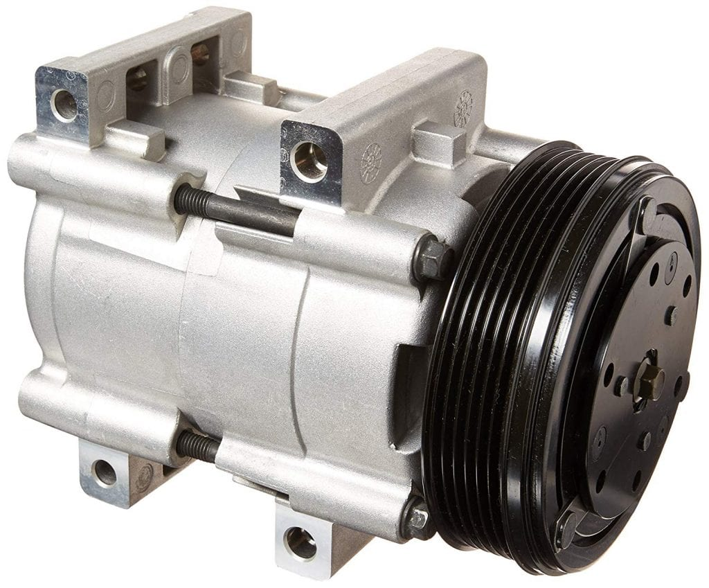 Denso New Compressor with Clutch (471-8109)