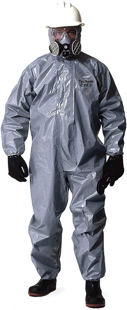 DuPont Chem Suit Pandemic Kit