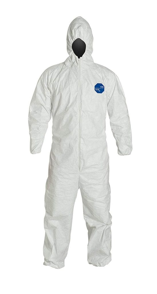 DuPont Tyvek 400 TY127S Disposable Protective Suit