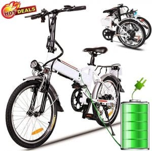 Hurbo 250W:350W Folding Electric Bike