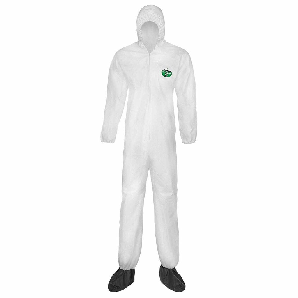 Lakeland MicroMax Coverall with Boots & Elastic Cuff