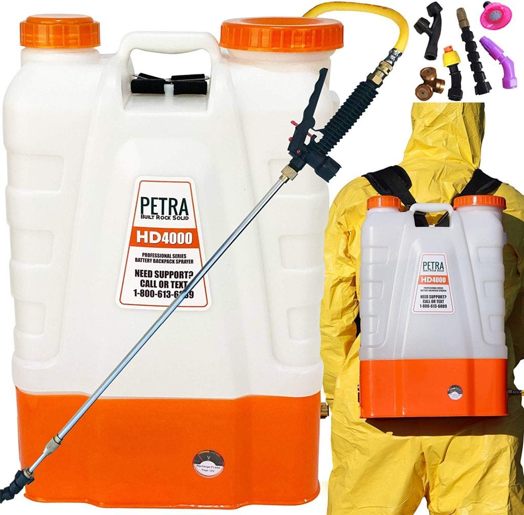 Petra 4 Gallon Battery-powered Backpack Sprayer