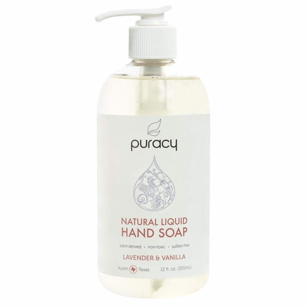 Puracy Lavender & Vanilla Natural Liquid Hand Soap