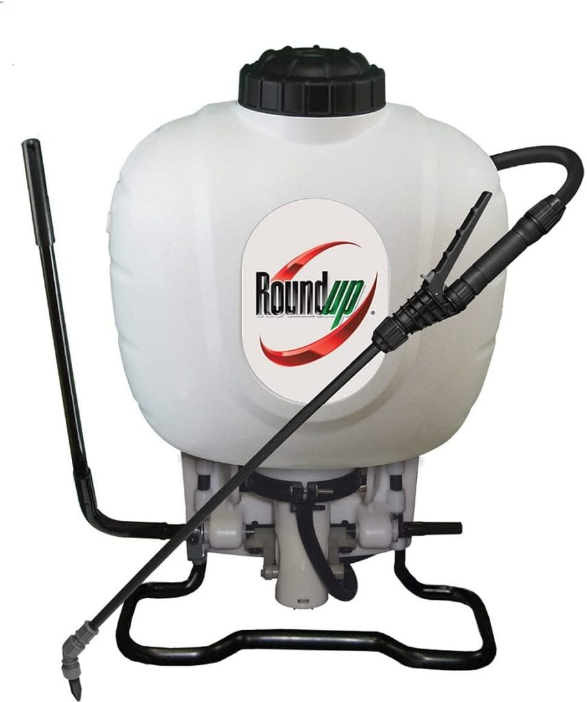 Roundup 190314 Backpack Sprayer for Fertilizers, Herbicides, Insecticides & Weed Killers