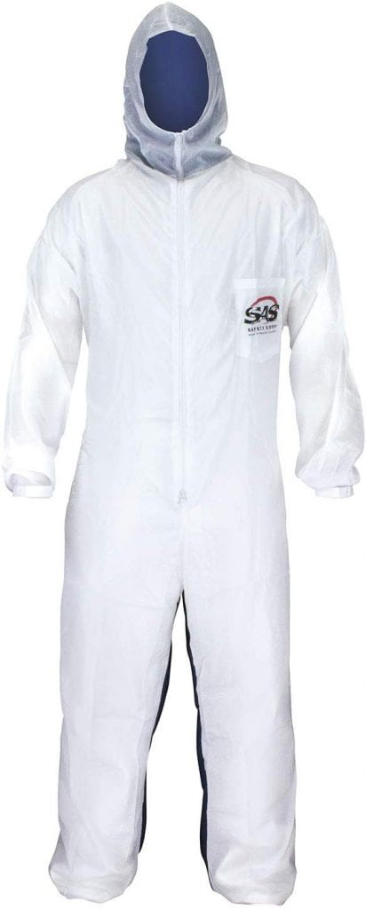SAS Safety 6938 Moon Coverall suit