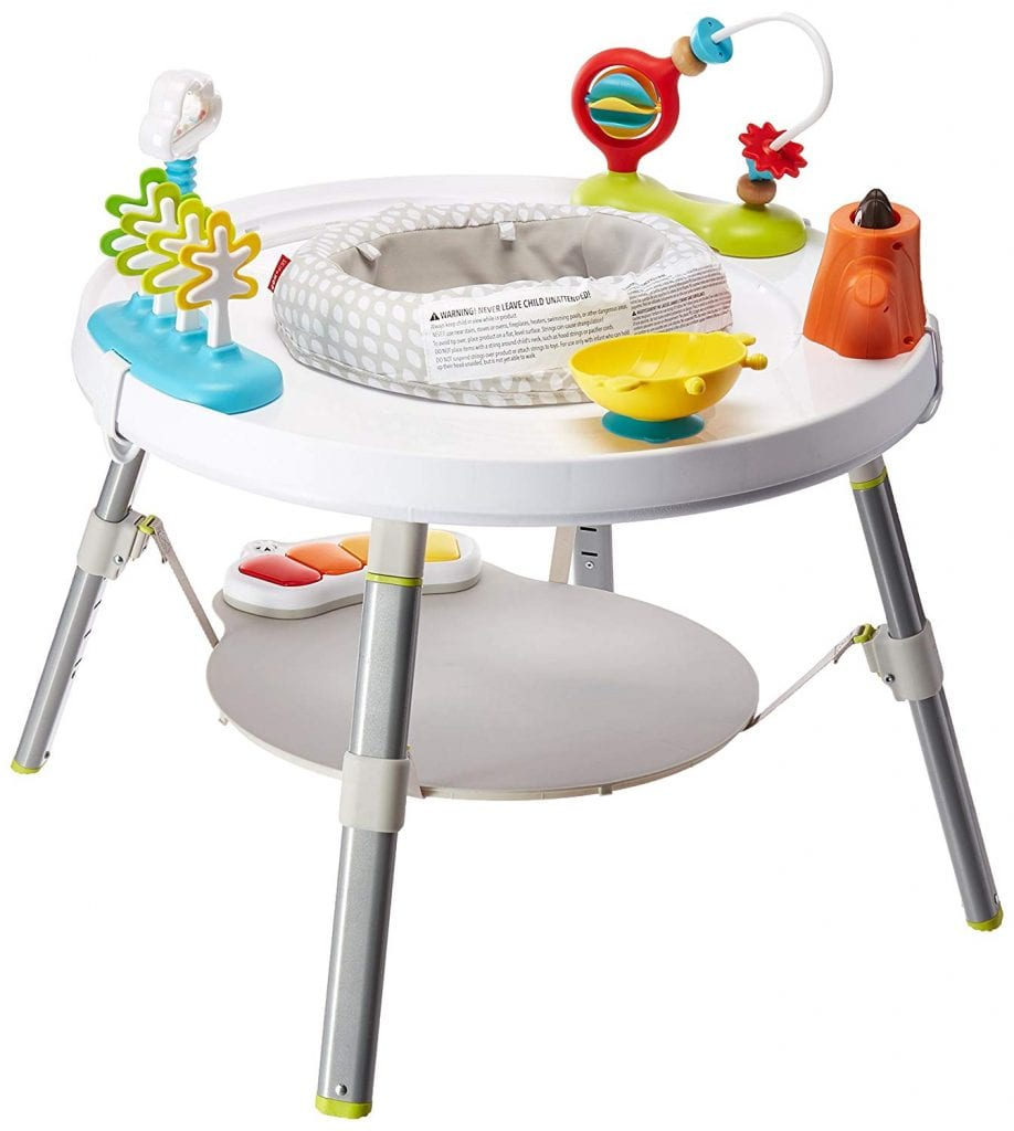 Skip Hop Explore and More Baby's View 3-Stage Interactive Activity Center, Multi-Color