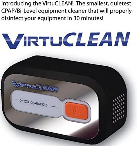 SleepDirect VirtuClean CPAP equipment and mask cleaner