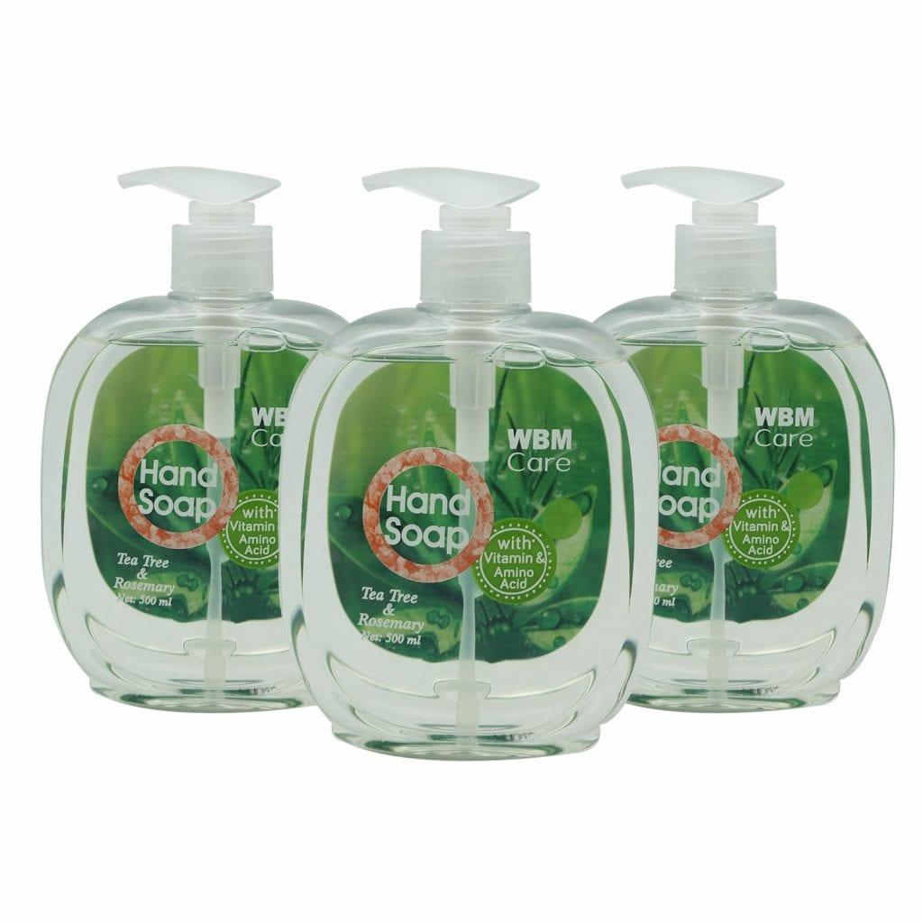 WBM Care Tea Tree & Rosemary Liquid hand Soap