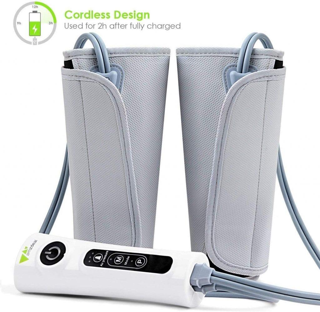Amzdeal rechargeable leg massager