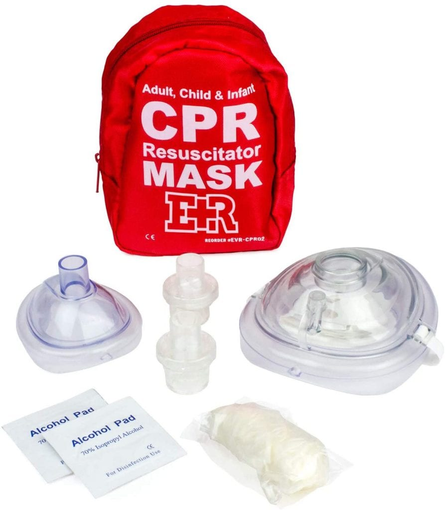 CPR Masks by Ever Ready First Aid