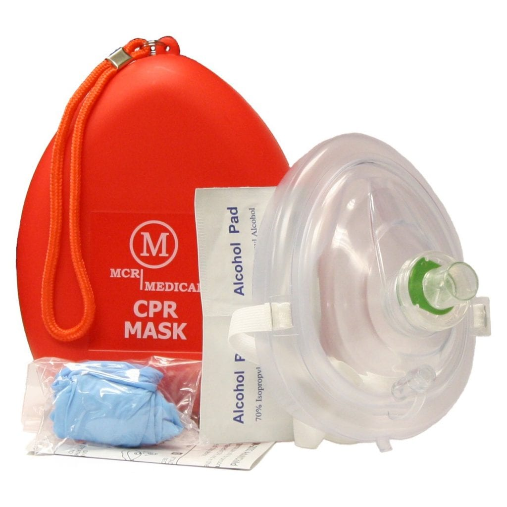 CPR Rescue Mask by MCR Medical
