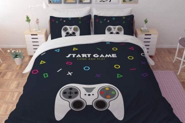 Gaming bedding set for boys