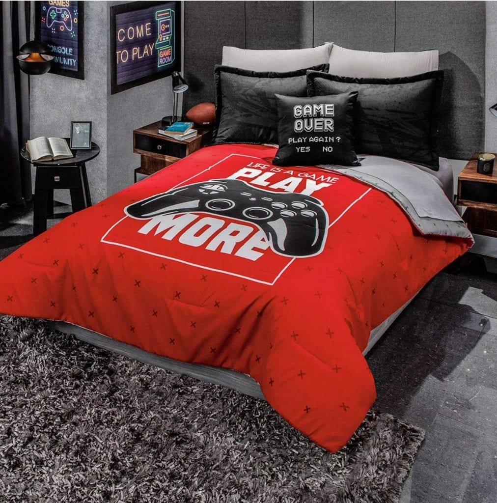 JORGE'S HOME-FASHION INC Gamer Console [Reversible-Comforter Set]