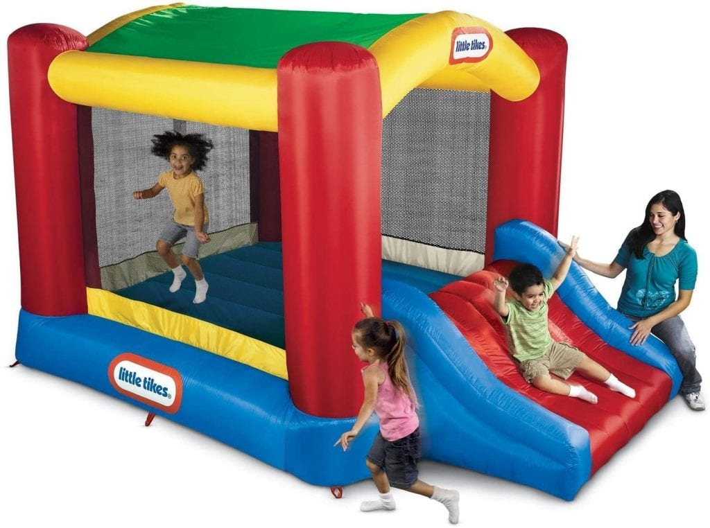 Shady Jump n Slide Bouncer by Little Tykes