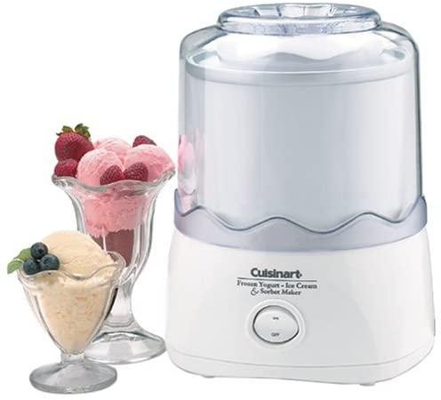 Cuisinart ICE-20 Automatic 1-1/2-Quart Ice-Cream Maker