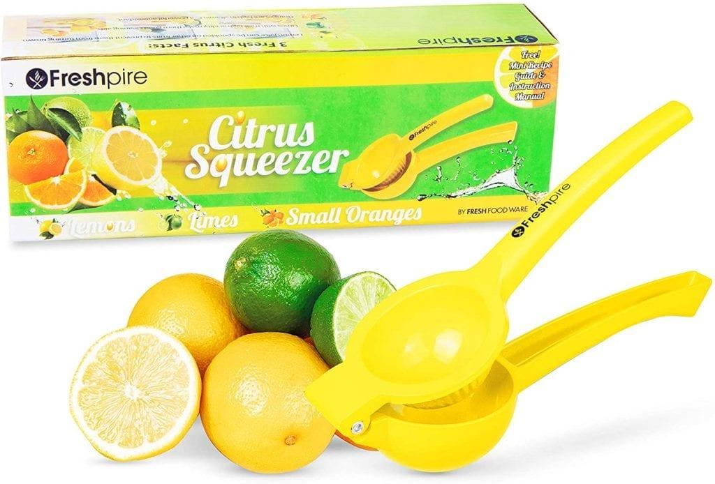Freshpire Manual Premium Dishwasher Safe Juice Extracting Lemon Squeezer