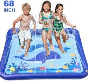GiftInTheBox Kids Sprinkler and Splash Playmat