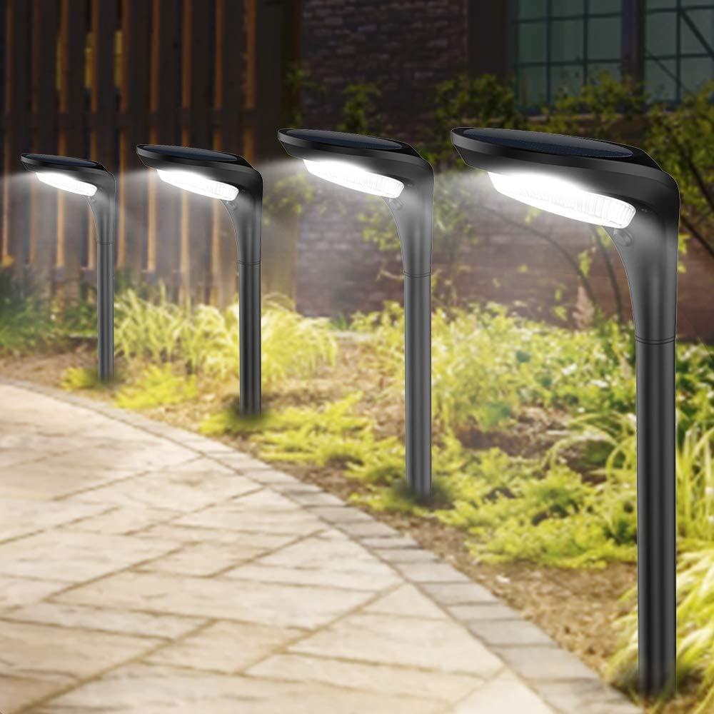 JSOT Outdoor Solar Pathway Lights