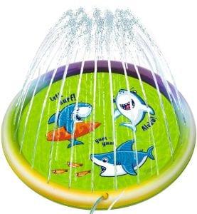 Joyjoz Kids Splash Pad, Sprinkler Pad