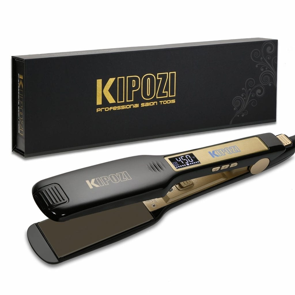Kipozi Snag-Free Styling Hair Flat Iron