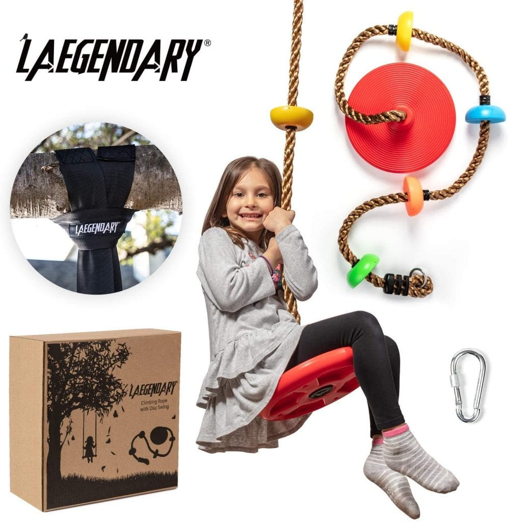 Laegendary 2-in-1 Climbing And Swinging Rope