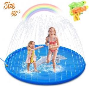 Children's Sprinkler Pool