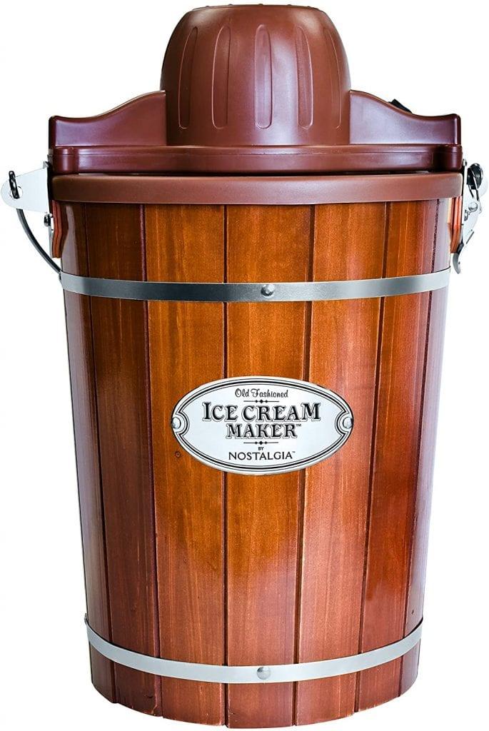 Nostalgia Electric Bucket Ice-Cream Maker