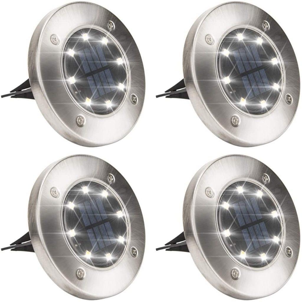 Solpex Solar Powered Disk Lights