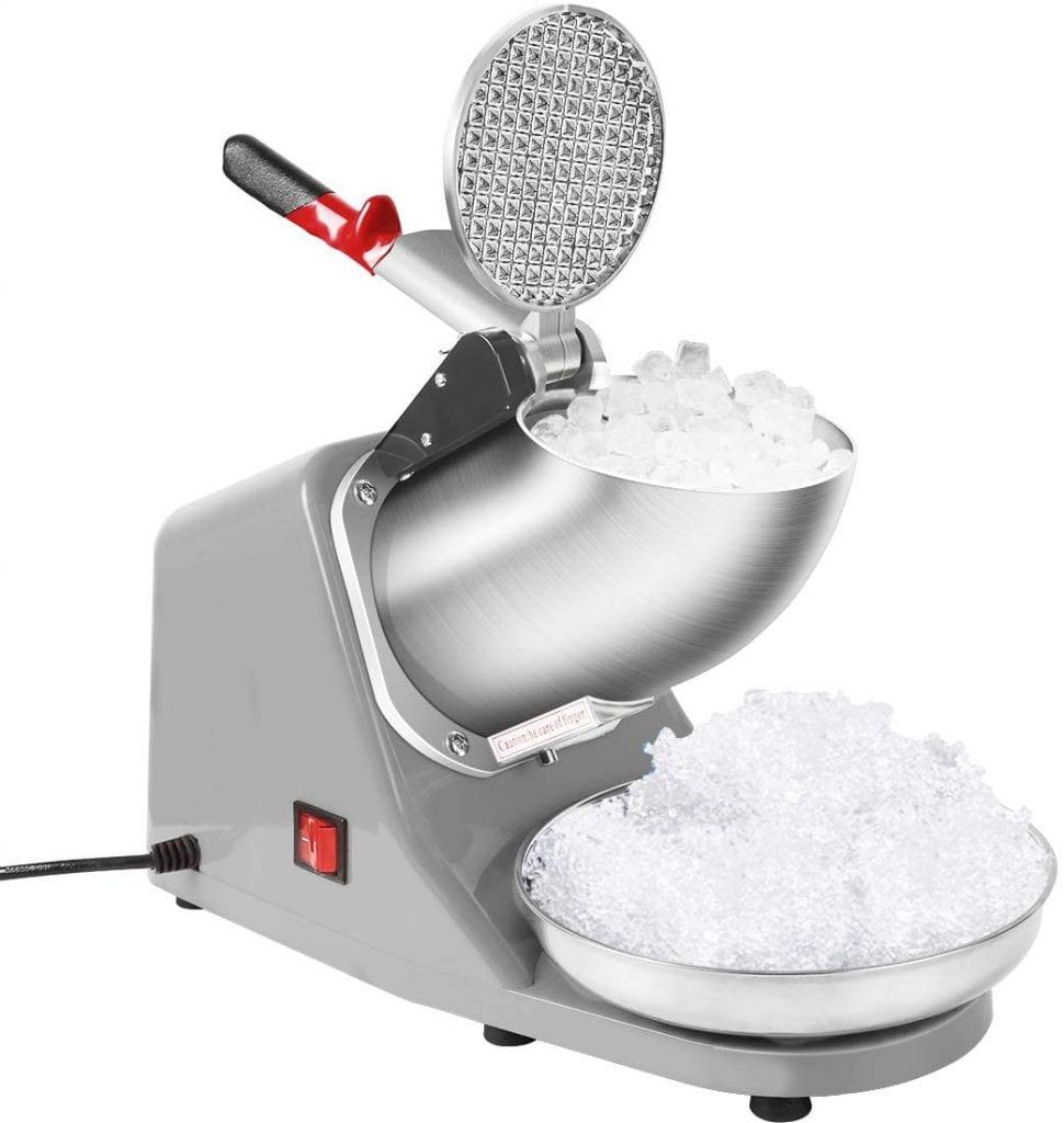 VivoHome Silver Electric Ice Shaver Machine