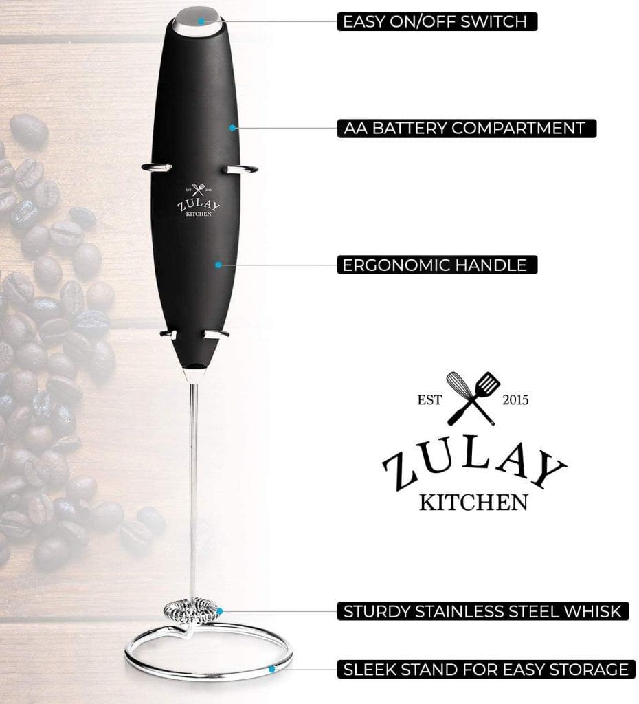 Zulay Original Milk-Frother