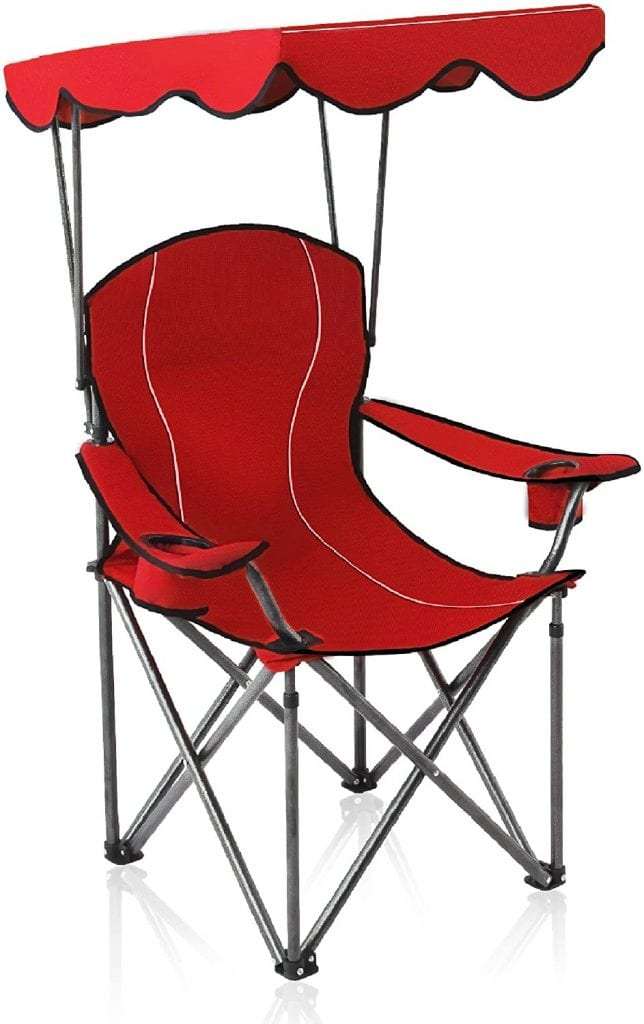 Alpha Camp Supportive Shading Camp Chair
