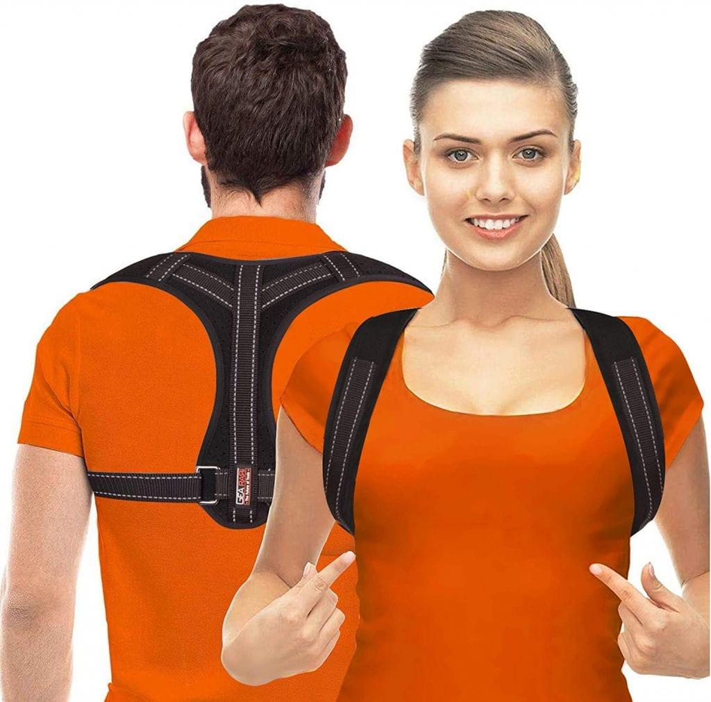 Gearari Upper Back Brace Straightener