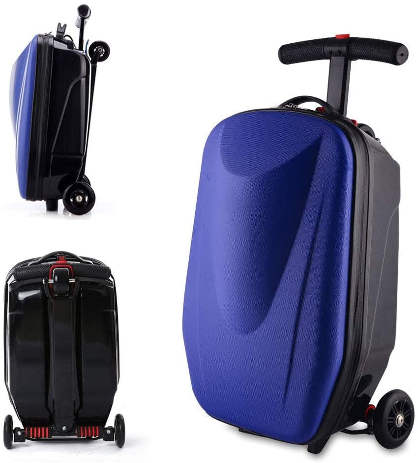 KANING Luggage Scooter, 20'' Scooter Suitcase