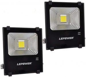 LEPOWER 20W LED Flood Light