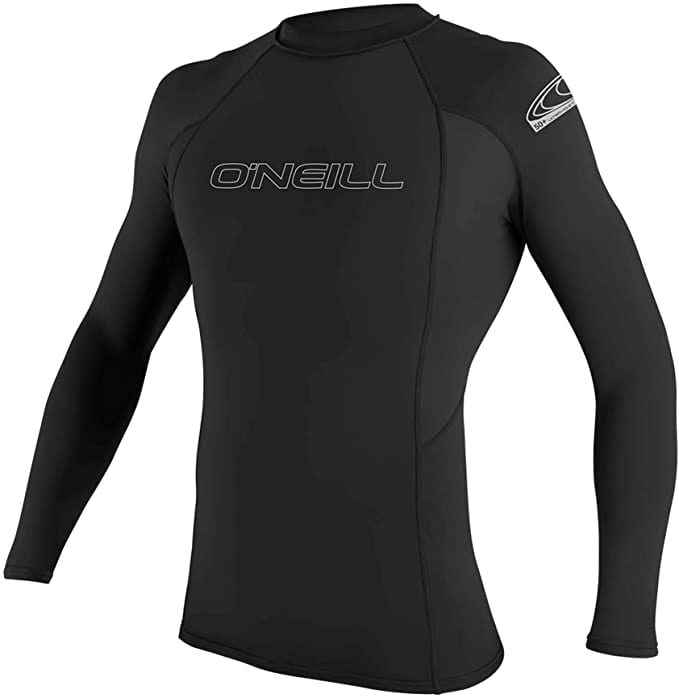 O'Neill Wetsuits Black Basic UPF 50 Long Sleeve Skin Suit Guard
