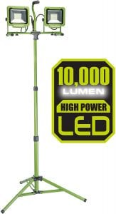 PowerSmith PWL2100TS LED Work Light with Tripod
