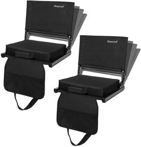 Sheenive Reclining Stadium Seats With Detachable Cushion