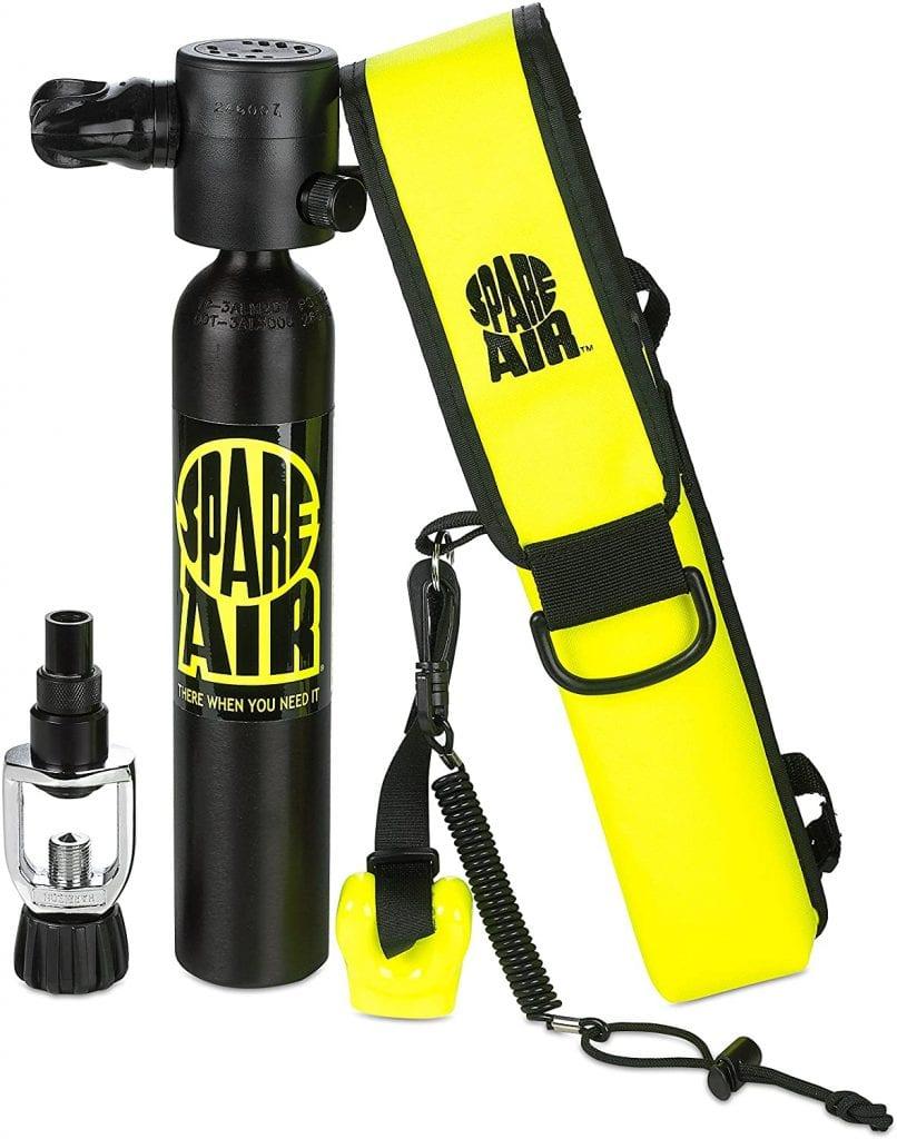 Spare Air Alternate Air Source Diving Kit