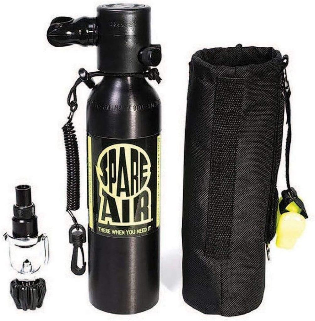 Spare Air Refill Adaptor Lightweight Diving Air Tank Kit